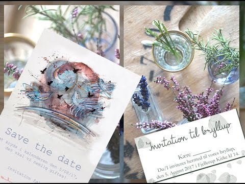 My Zero Waste Wedding // Eco Wedding Invitations