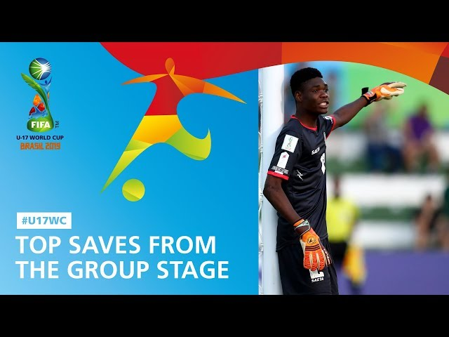 Top Saves From The Group Stage - FIFA U17 World Cup 2019 ™