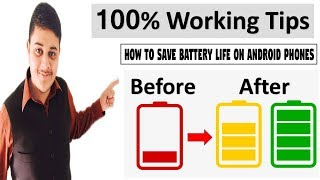 How to Save Battery Life on Android Phones in Two Ways Urdu/Hindi Tutorial 2018.