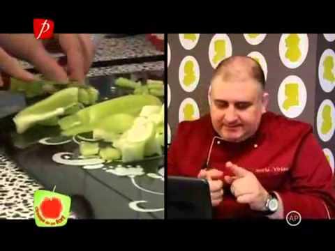 Mihai Traistariu - in bucatarie