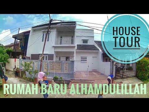 Vlog #7 House Tour Rumah Putih Baru Jakarta Coret di Ciledug