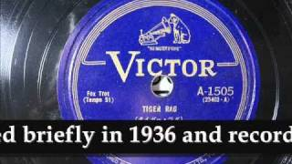 From my 78rpm record collection. 「タイガー・ラグ」 ニック・ラロッ...