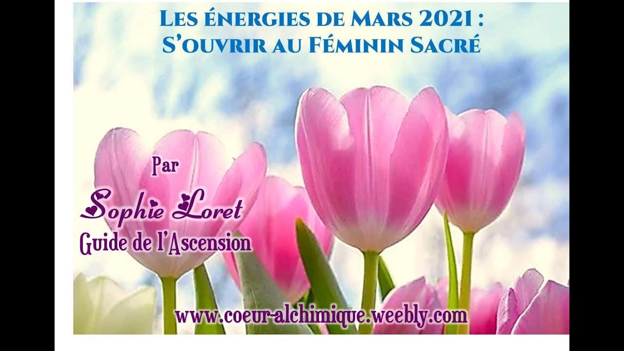 Les énergies de Mars 2021 : S'ouvrir au Féminin Sacré – Presse Galactique