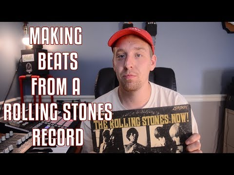 My Audio Messed Up - Making a beat from a Rolling Stones Vinyl - J-Ideas Fresh Produce