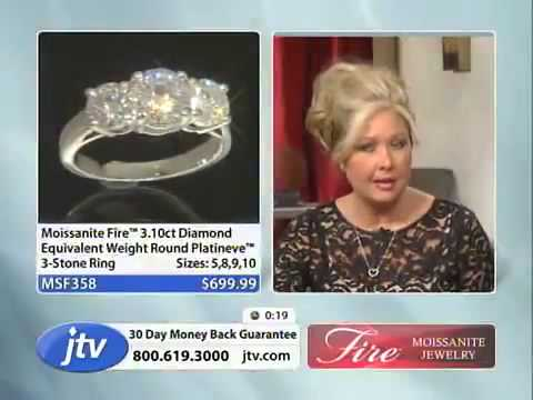 Moissanite Fire With Nikki 1 18 2013 12 00 PM   Jewelry Television   YouTube2