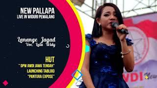 NEW PALAPA LIVE PEMALANG - LANANGE JAGAD VOC LALA WIDY