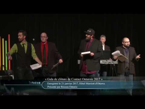 Contact Ontarois 2017 - 36e édition - Gala de clôture