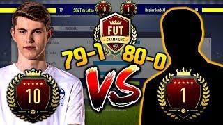 FIFA 18: TIM LATKA VS PLATZ 1 DER WELT (80-0) FUT CHAMPIONS SPECIAL! 😏🔥