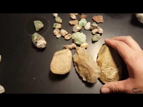 Texas rockhounding overview crystals fossils agate jasper quartz fluorite  ( pt 2)
