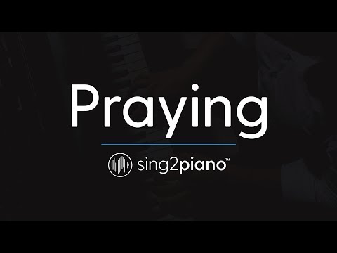 Praying [Piano Karaoke Instrumental] Kesha