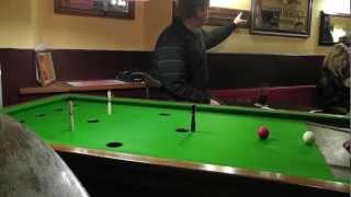 Guernsey Bar Billiards Ko Pairs Final 2012 - Game 1 [part 1]