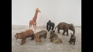 SCHLEICH : Nauka o zwierzętach dla dzieci , odgłosy zwierząt