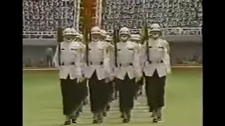 세계 1등한 해병대 1사단 의장대//ROKMC Honor Guard won first grade at the world contest.(South Korea)