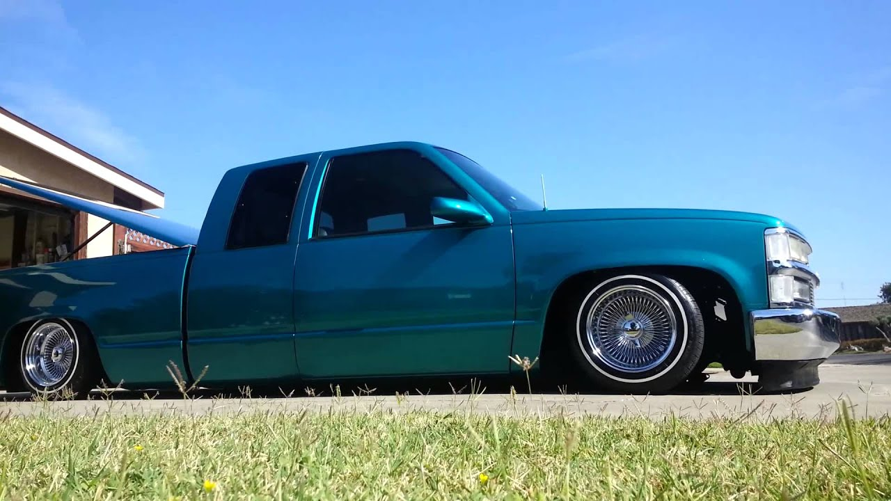 1995 Chevy Silverado 1500 Green C1500