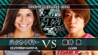 2013年10月5日に行われたVTJ3rd。 女子総合格闘技のパイオニア・藤井恵...