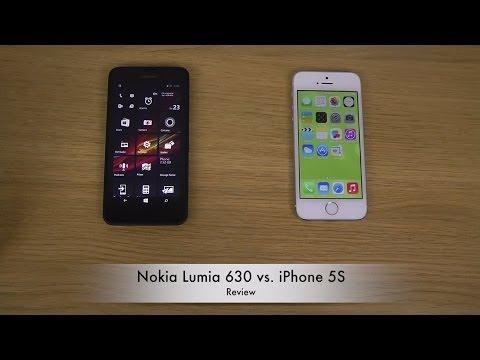 Nokia Lumia 630 vs. iPhone 5S