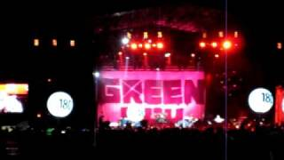 Green Day - Holiday Live @ Nem-Catacoa 2010