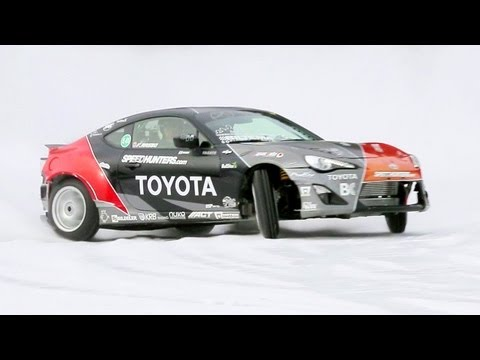 Snow Drifting the Toyota GT 86 with Fredric Aasbo! The Downshift Episode 53