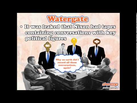 The Watergate Scandal by Shmoop