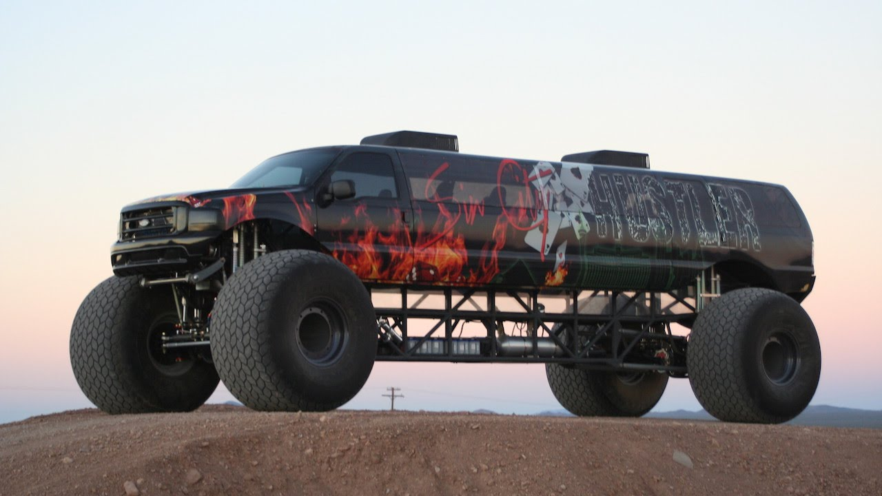 Sin City Hustler Is World S Longest Monster Truck Youtube