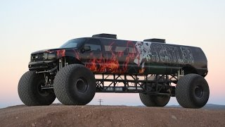 $1M 'Sin City Hustler' Is World's Longest Monster Truck