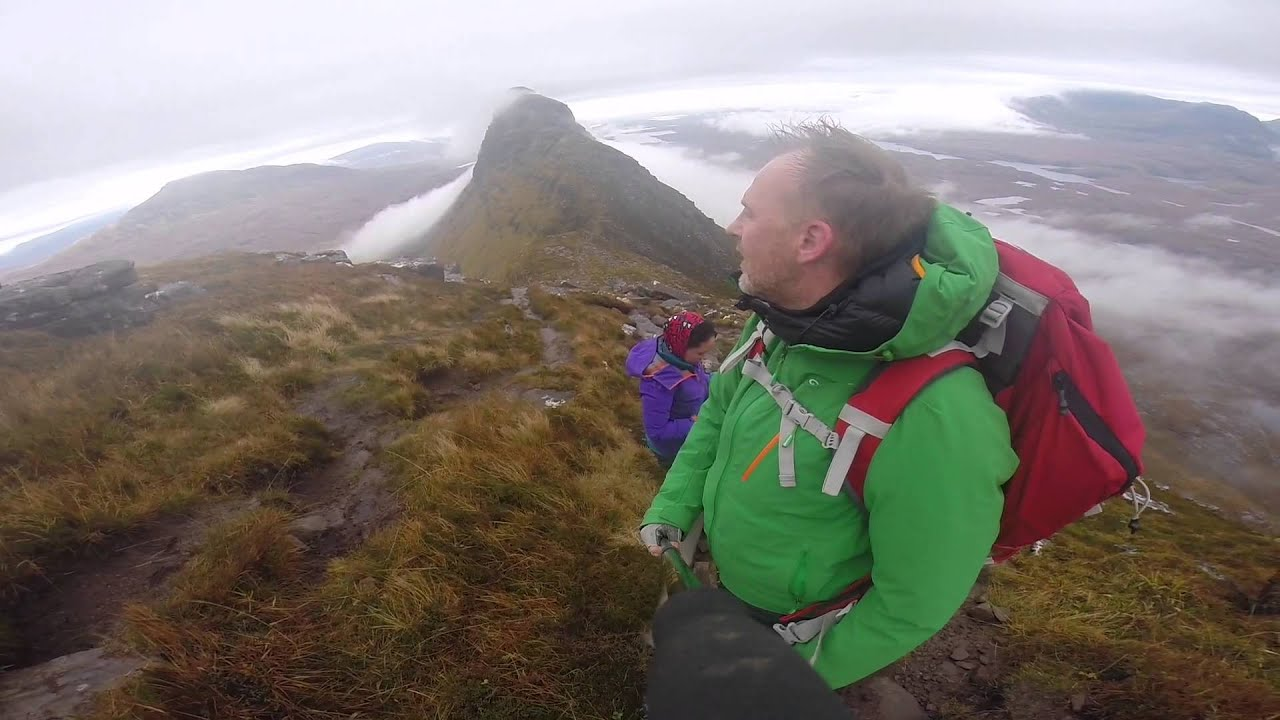 Wild Camping Suilven Scotland - YouTube
