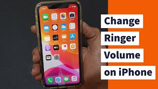 This video covers 1. how to change the ringtone volume: 0:18 2. set volume keys ringer and alert sound: 0:57 3. adjust call volum...