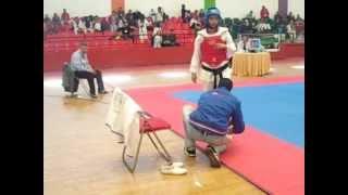Taekwondo Maroc Khemisset , Rabat 2013 ikram ben radi -55 kg