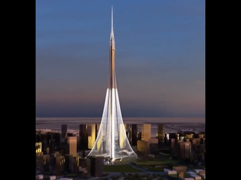 DUBAI CREEK TOWER  مجسم معماري برج خور دبي