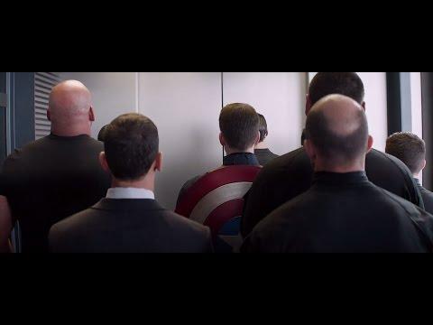 Captain America 2 - Elevator scene ( HD ) streaming vf