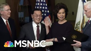 Major Corporations, Companies Linked To Trump Associates Got Business Loans | The Last Word | MSNBC