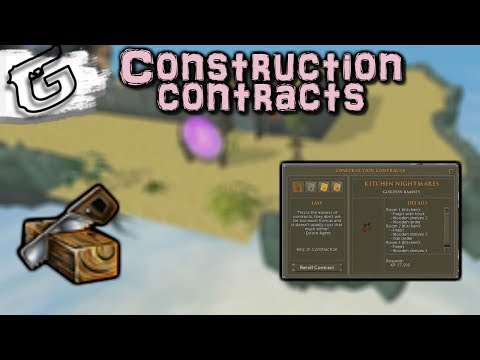 New Construction update - Construction contracts