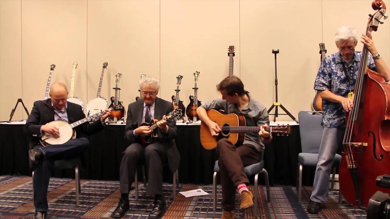 tony williamson, et al play bluegrass breakdown and discuss the