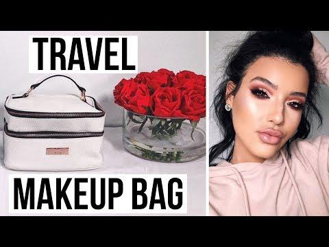ESSENTIALS EVERY GIRL NEEDS IN HER TRAVEL MAKEUP BAG   Amanda Ensing