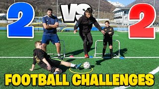 ⚽️ 2 vs 2 FOOTBALL CHALLENGE! w/SG Soccer & Enry Lazza