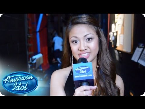 Adriana Latonio: Semi Finals Immediate Reaction - AMERICAN IDOL SEASON 12