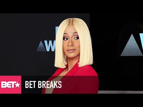 Cardi B Becomes Highest Charting Female Rapper Since 2014 - BET Breaks