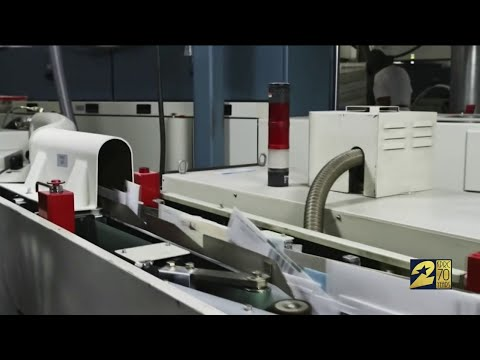 Damaged Sorting Machines Are Root Of Mail Delay In Houston