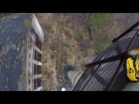 Прыжки с Гвоздя с командой RAPT - Даниил 2