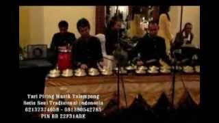 Tari Piring Musik Talempong