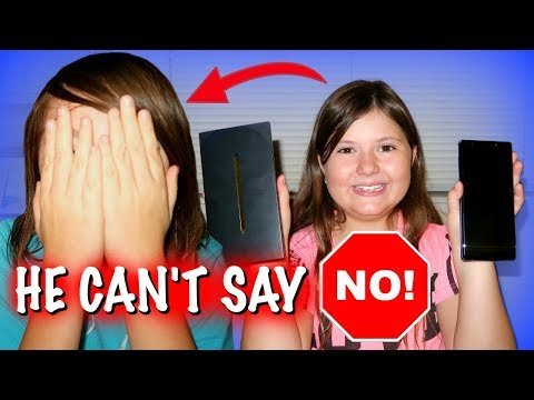 My Brother Can't Say NO for a Day! ~ Sedona is in charge for 24 hours!