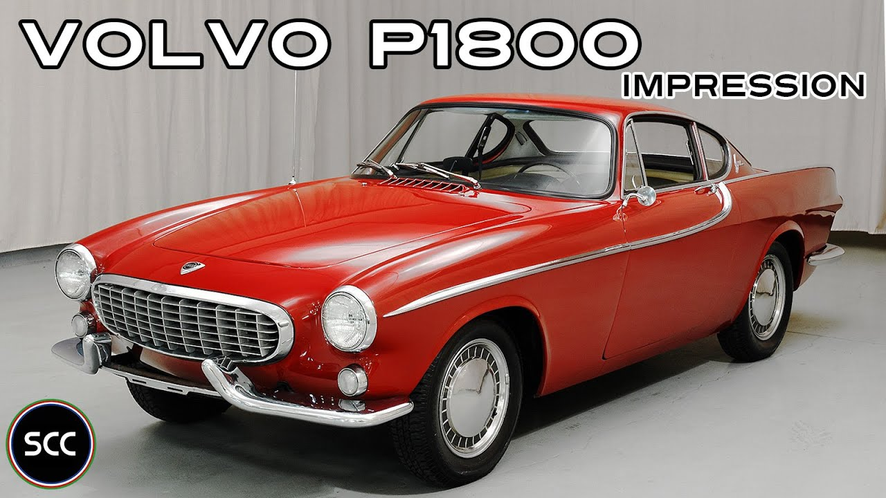 Volvo P1800 P 1800 Coupe 1962 Modest Test Drive Engine Sound Scc Tv Youtube