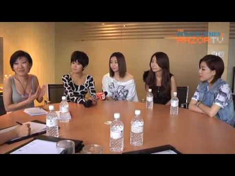 Brown Eyed Girls interview @ Singapore SunDown Concert Part3