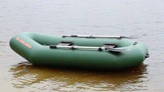Обзор лодки Колибри К-240 от Kapitan.UA (Kolibri K-240) Стандарт