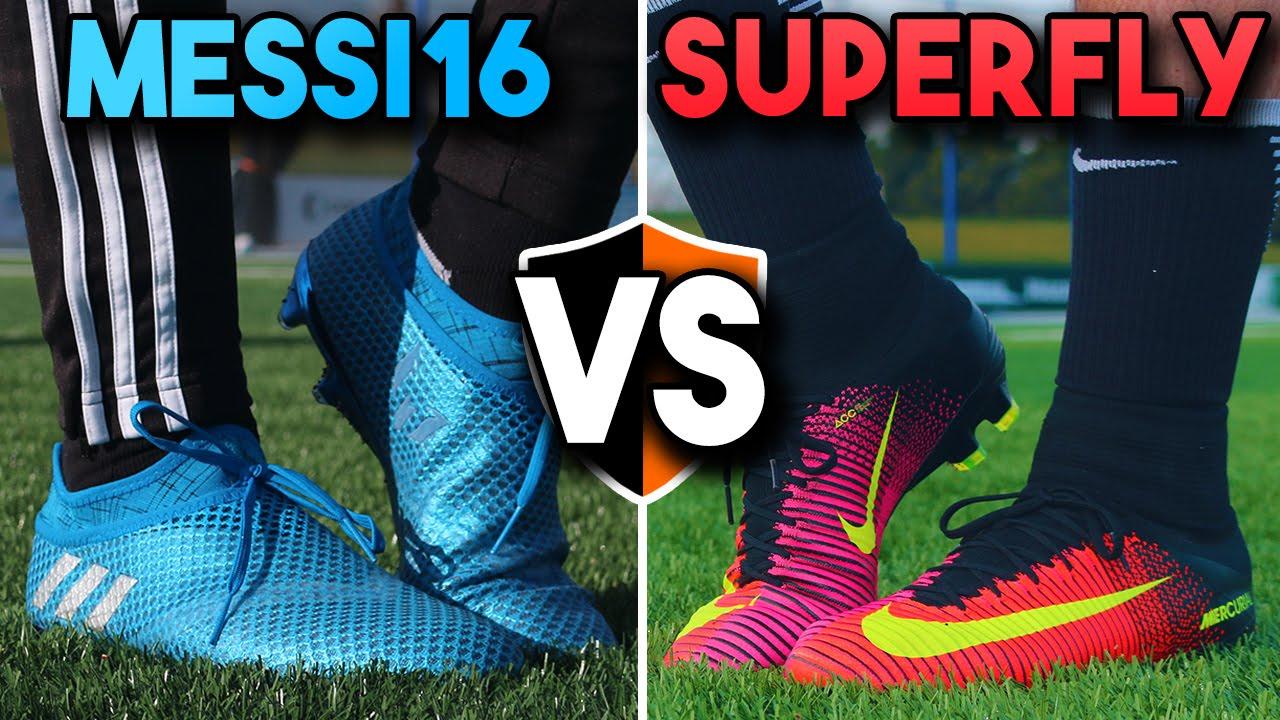 Messi Pureagility v CR7 Mercurial Superfly | Leo v Ronaldo Football Boots -  YouTube