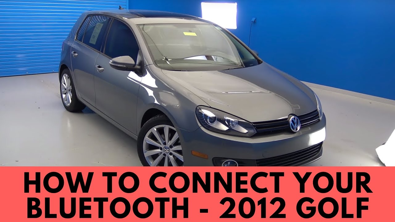 2012 volkswagen golf how to connect bluetooth youtube. Black Bedroom Furniture Sets. Home Design Ideas