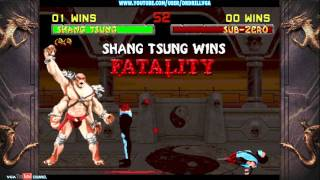 Mortal Kombat Arcade Kollection MK2 Fatalities HD