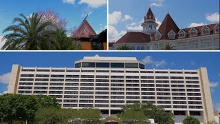 Magic Kingdom Monorail Resorts Complete Tour in 4K | Walt Disney World Resort Orlando Florida 2020