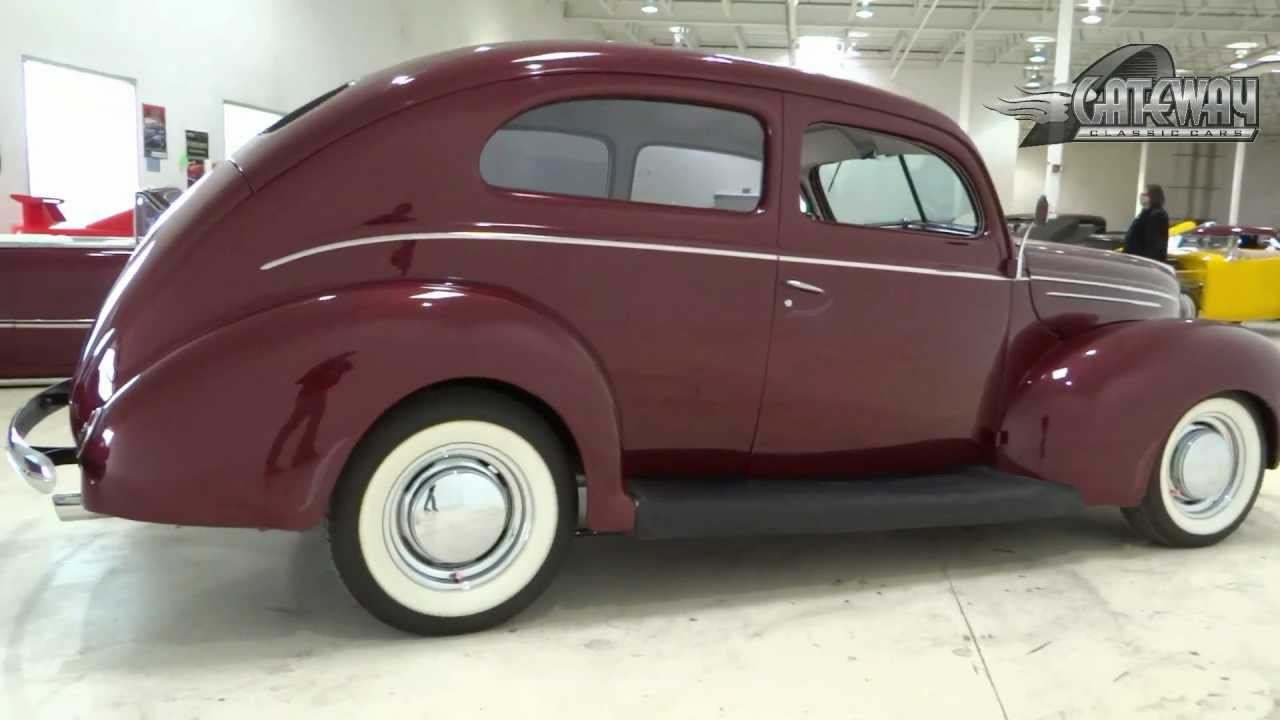 1939 ford deluxe 2 door sedan youtube for 1938 ford 2 door coupe