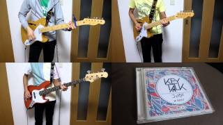 KEYTALK - coaster(all instruments cover without Vocal) おちこんだり...